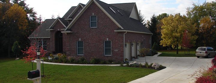 Custom home builder in lafayette west lafayette indiana for Custom home builders lafayette la